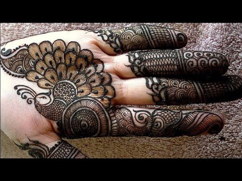 Karva chauth mehndi design 2018, simple mehendi design || New mehndi design | Mehndi design
