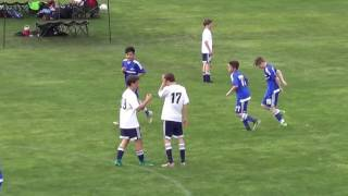 Visalia Tulare Force U13 Goals Boys Association Cup 3-11-17