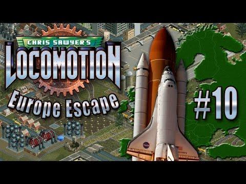 Chris Sawyer's Locomotion: Europe Escape - Ep. 10: SPACE-PORT SHUTDOWN