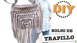 Diy  Tutorial How To Make A Fringe Bag Of Zpagetti Yarn