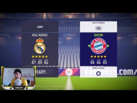 FIFA 18 GAMEPLAY | REAL MADRID VS BAYERN MUNICH thumbnail
