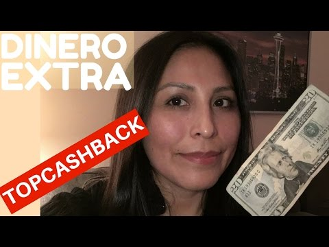 GRATIS $5 con el programa de dinero de regreso de TopCashback