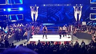 Braun Strowman, Dolph Ziggler and Drew McIntyre Live Entrances - RAW 8/27/18