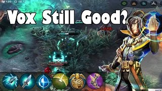 CP Vox Still Good? - Tough Start! | Vainglory Gameplay