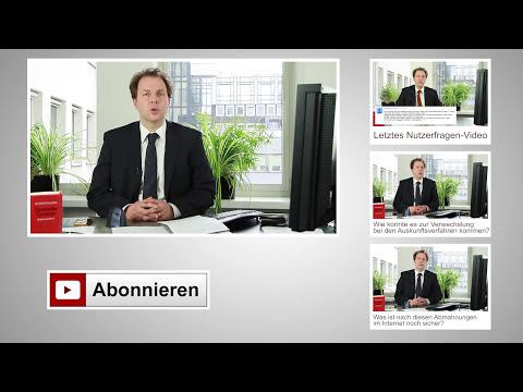 Anschauen von Redtube-Filmen abgemahnt - erste Streaming Abmahnungen in Deutschland   Kanzlei WBS