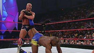 Kurt Angle vs Shelton Benjamin 8/22/05