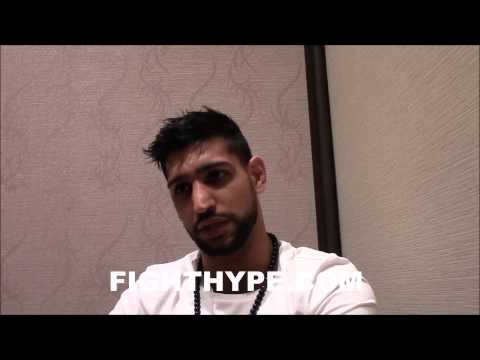 AMIR KHAN EXPLAINS HOW FLOYD MAYWEATHER WILL BEAT MANNY PACQUIAO: