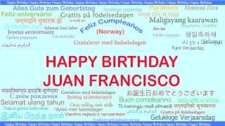 JuanFrancisco   Languages Idiomas - Happy Birthday