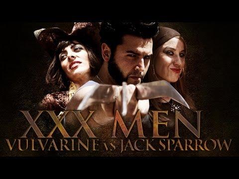 XXX MEN 2 - VULVArine vs Jack Sparrow thumbnail