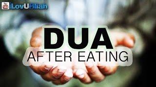 Dua After Eating    *Must Watch*