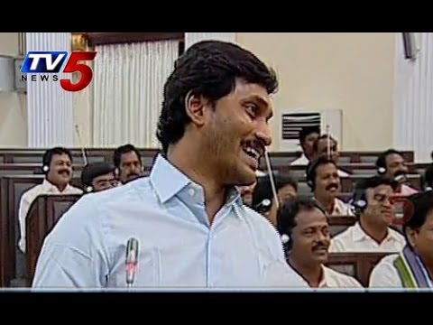 Ys Jagan - Yanamala Ramakrishnudu Comedy In Ap Assembly : Tv5 News video