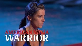 Kacy Catanzaro at the American Ninja Warrior 2014 National Finals | American Ninja Warrior