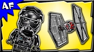Lego Star Wars First Order Special Forces TIE Fighter 75101 Stop Motion Build Review