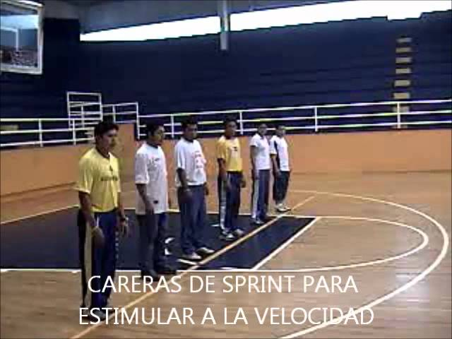 CALENTAMIENTO DE VOLEIBOL PARTE 2 AUMENTO DEL RITMO CARDIÁCO.wmv