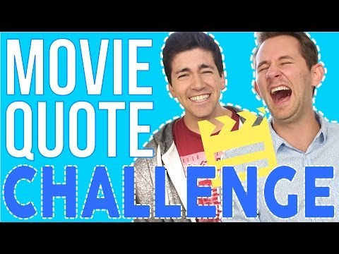 MOVIE QUOTE CHALLENGE | JouleThief