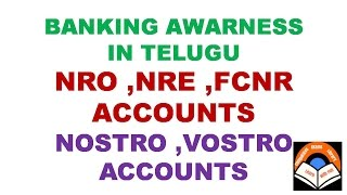 download lagu Nro Nre Fcnr Nostro Vostro Accounts Explanation In Telugu gratis