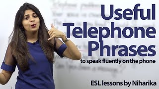 Useful Telephone Phrases - English lesson