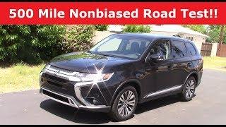 2019 Mitsubishi Outlander: Performance & Economy Drive