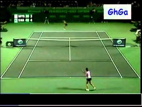 Maria Sharapova vs Anastasia Myskina 2006 Miami Highlights