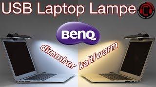 Benq Screenbar Lite - Teure Laptop USB Lampe im Test [Deutsch/German]