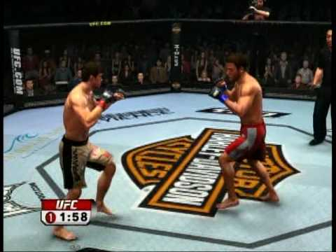 UFC 2009 Undisputed Forrest Griffin VS Stephan Bonnar Video