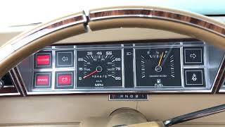 1982 Dodge Aries Cold Start (20° Fahrenheit)