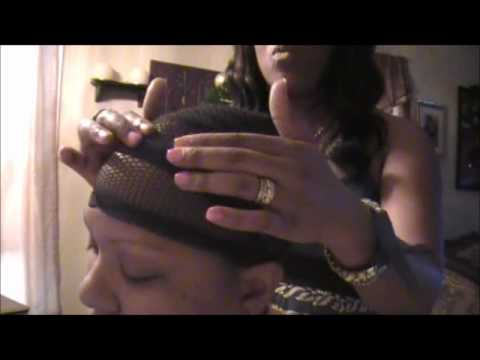 FULL HEAD SEW IN WEAVE PART 1 First Remy Hair