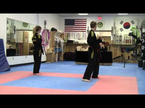 Tae Kwon Do Black Belt Test Image 1
