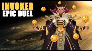 Dota 2 WTF Moments / Bonus Clip - Invoker Epic Duel