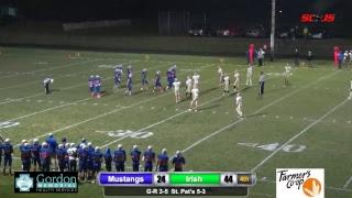 Gordon-Rushville Football vs NP Saint Pats