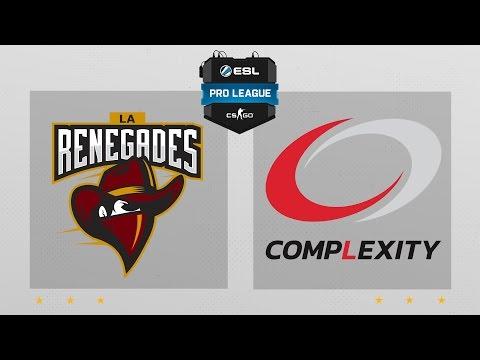 CS:GO - Renegades Vs. CompLexity [Dust2] Map 1 - ESL Pro League Season 4 - NA Matchday 15