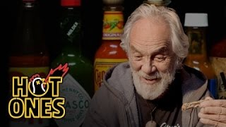 Tommy Chong Talks Weed, Bernie Sanders, and Smoking with Snoop While Eating Spicy Wings | Hot Ones
