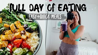 WHAT I EAT IN A DAY to stay healthy at HOME (vegan)