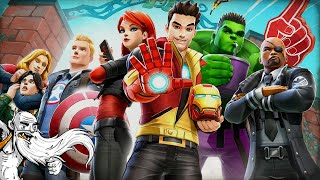 """AVENGERS ASSEMBLE...FOR SCHOOL!!!""  Marvel Avengers Academy 1080p HD gameplay walkthrough"