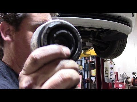2003 BMW 325i Lower control arm bushing replacement