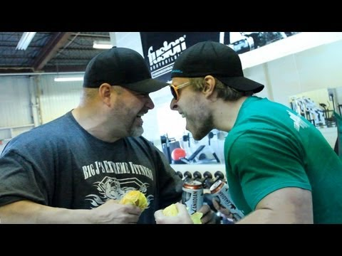 The MAN Workout - Beers, Burgers and Barbell w/ Big J   Furious Pete