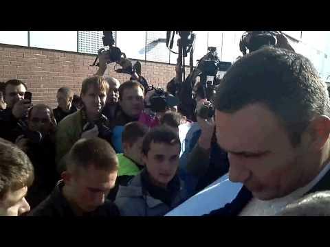Трезвенники Украины против Кличко