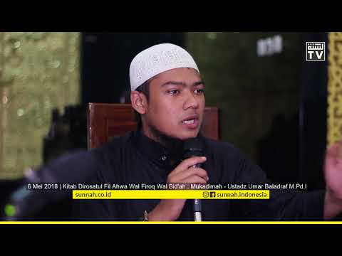 Mukadimah Kitab - Ustadz Umar Baladraf M.Pd.I