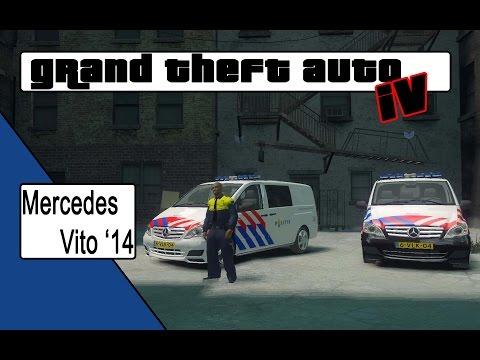 GTA 4 Mercedes Benz Vito