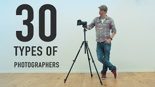 30 Different Types of Photographers