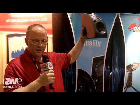 CEDIA 2014: Parts Express Reveals Dayton Audio Speaker QS204-4
