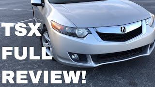 2010 Acura TSX Full In Depth Review Overview