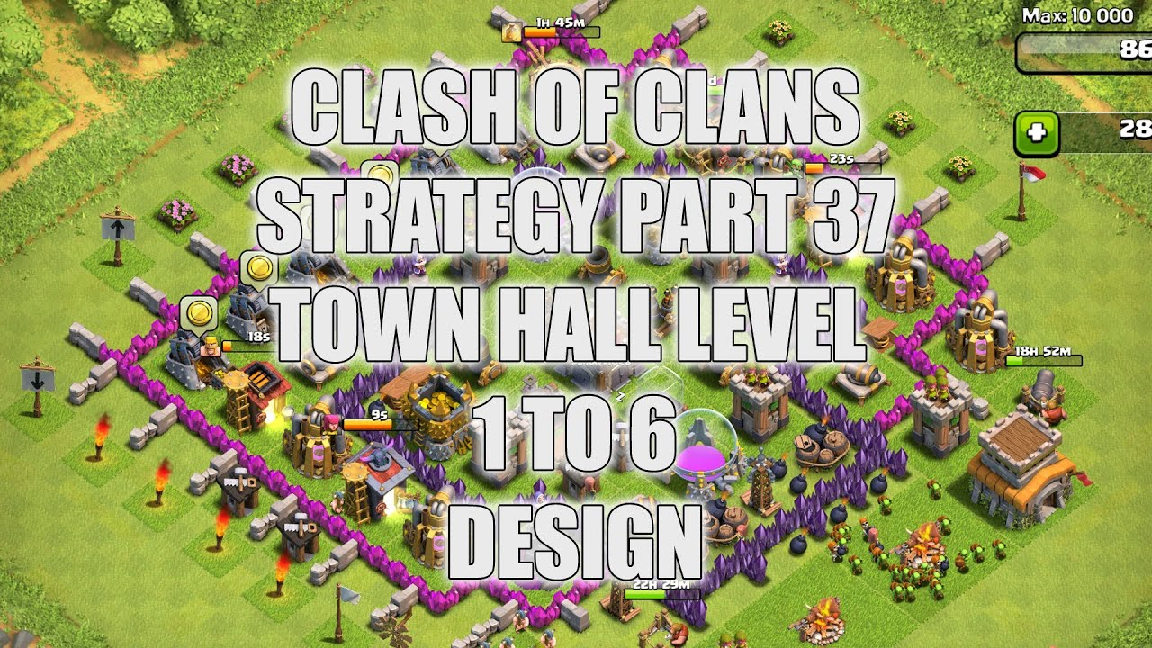 Wall Design For Town Hall 6 : Clash of clans part town hall level to designs