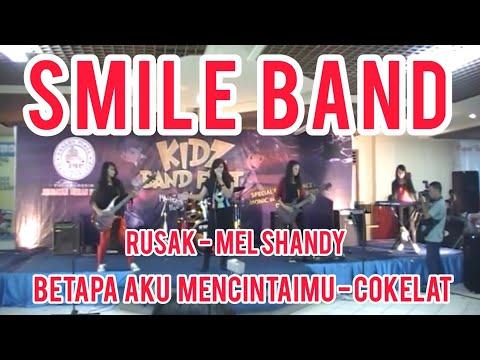 SMILE BAND - Mel Shandy-Rusak & Coklat-Betapa Aku Mencintaimu(FINALFestivalKidzBand (Juara 2))