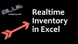 Real Time Inventory in Excel -free download