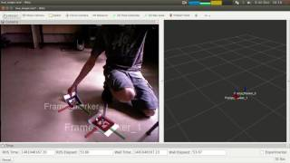 Tag detection with ar-track-alvar and dqrobotics