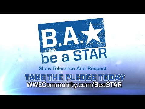 WWE Superstars and celebrities encourage The WWE Universe to be a STAR: Oct. 6, 2014