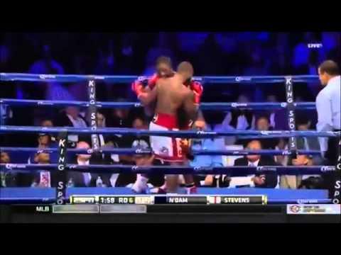 Curtis Stevens vs Hassan N Dam N Jikam 01 10 2014