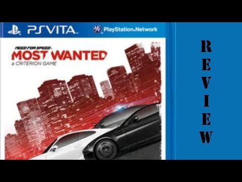 [PSVITA]Need for Speed Most wanted Review FULL HD DEUTSCH