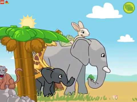 Game Lego Zoo - Lego 2016 | Лего Для Детей KIDS CHANEL
